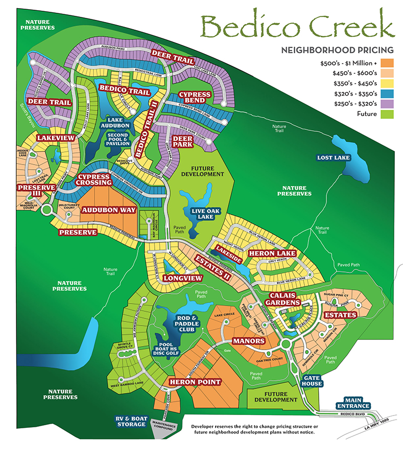 Bedico Creek Master Development Plan